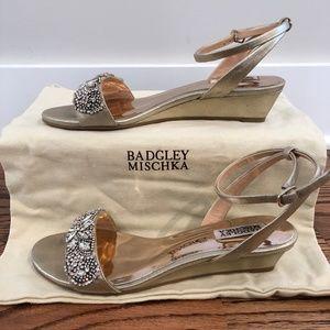 Badgley Mischka Hatch Wedge Sandal